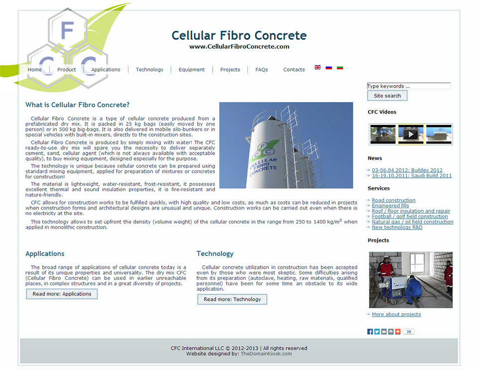 WWW.CELLULARFIBROCONCRETE.COM IGNORED!